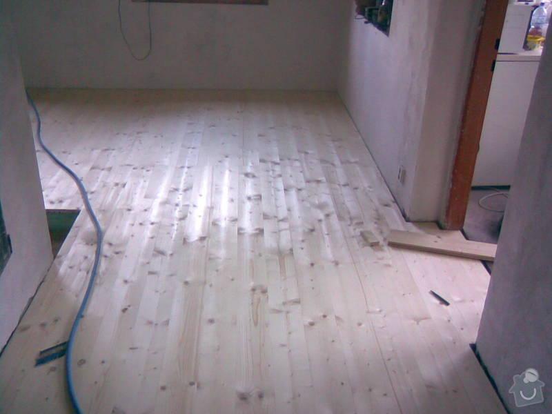 Vybourání staré a pokládka nové dřevěné podlahy: 30052010_006_