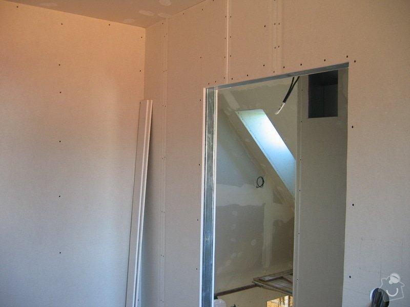 Sádrokartony, podlahy, izolace, zednické práce: IMG_3688
