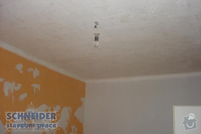 Rekonstrukce koupelny, montáž SDK podhledů: SDK_strop_1