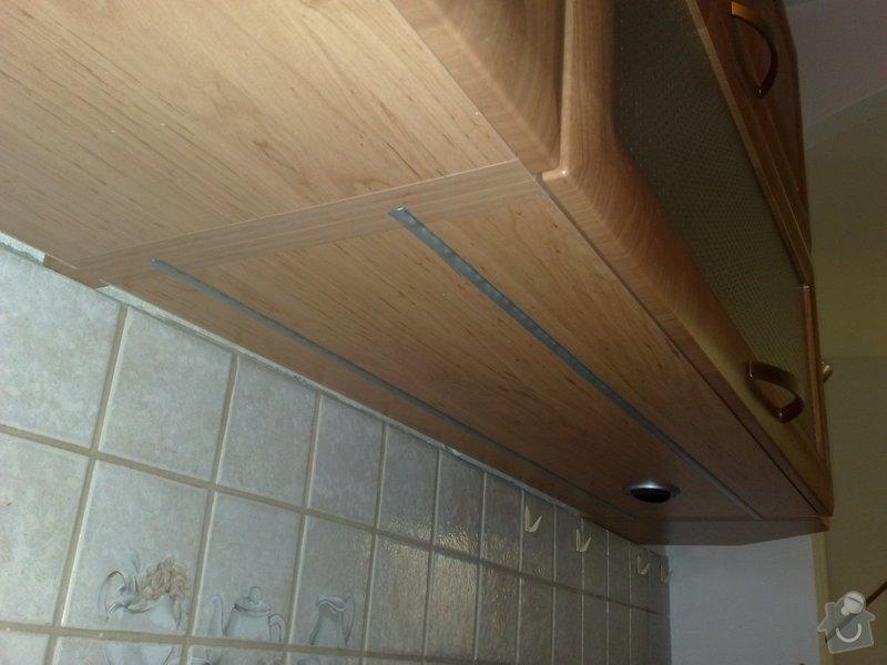 Osvětlení pod kuchyňskou linku typu LED: 03012011018
