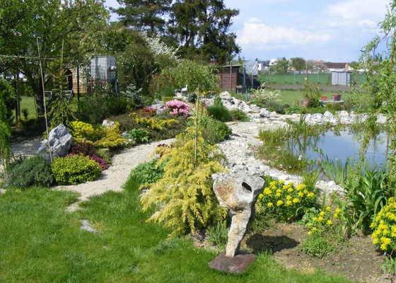 Návrh a realizace zahrady u novostavby rodinného domu
