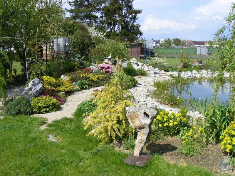 Návrh a realizace zahrady u novostavby rodinného domu : DSCF0053