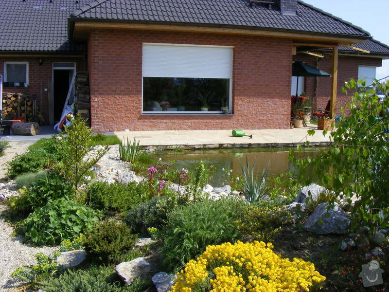 Návrh a realizace zahrady u novostavby rodinného domu : DSCF0064