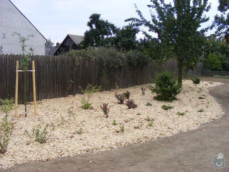 Návrh a realizace zahrady u rodinného domu: srpen_zari2009_115