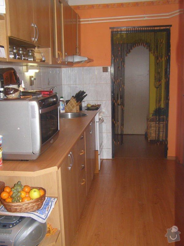Demontáž - montáž plovoucí podlahy,výměna dveří,výměna pracovní desky + dřez atd...: P1060003