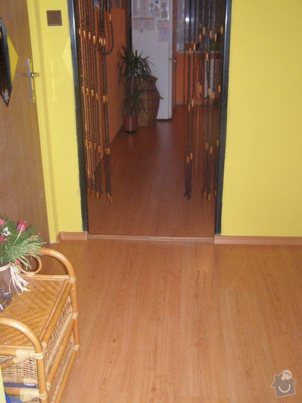 Demontáž - montáž plovoucí podlahy,výměna dveří,výměna pracovní desky + dřez atd...: P1030006
