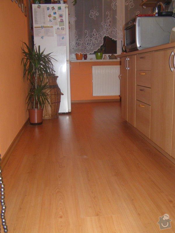 Demontáž - montáž plovoucí podlahy,výměna dveří,výměna pracovní desky + dřez atd...: P1060001