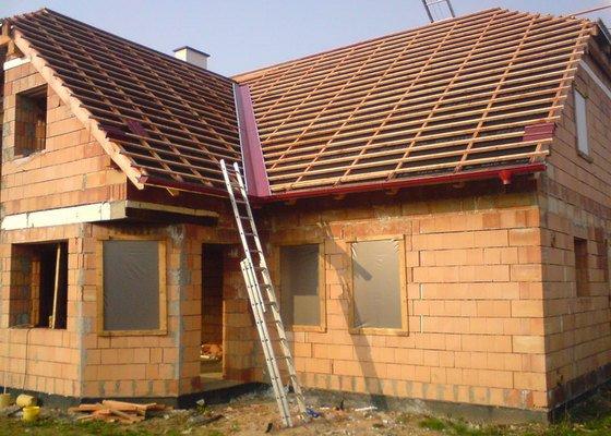 Klmpířské, pokrývačské práce a montáž střešních oken