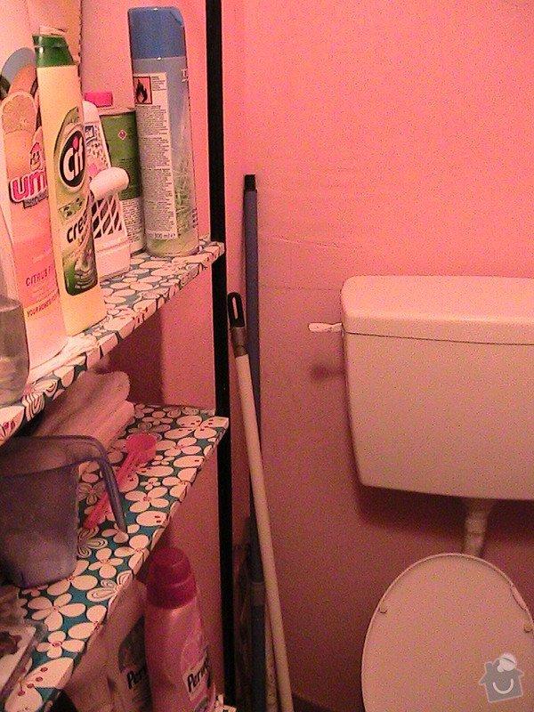 Rekonstrukce malé koupelny a wc v cihlovém domě: IMG_1234