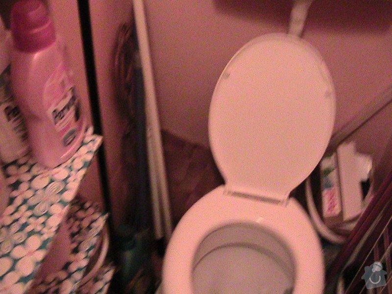 Rekonstrukce malé koupelny a wc v cihlovém domě: IMG_1236