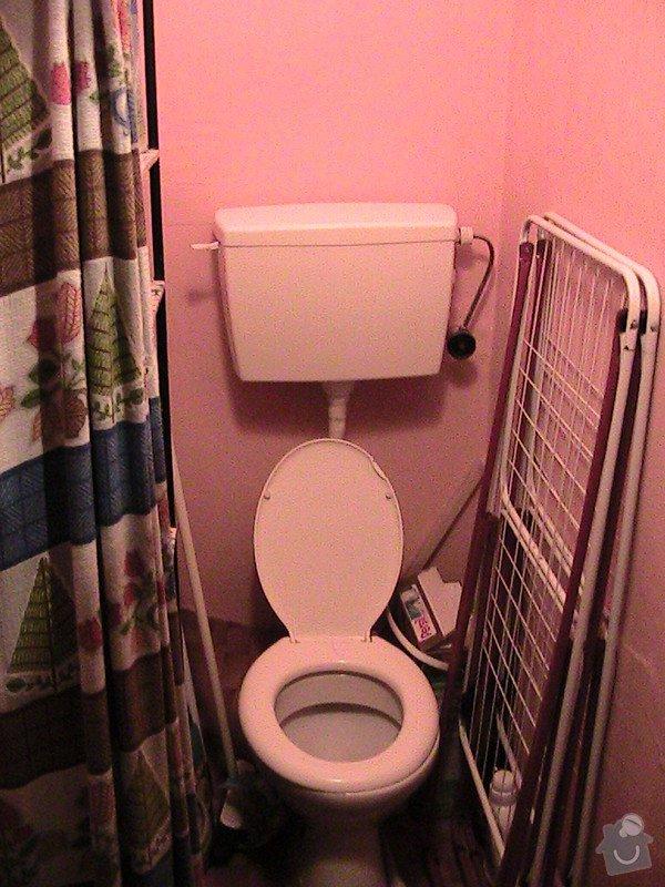 Rekonstrukce malé koupelny a wc v cihlovém domě: IMG_1237