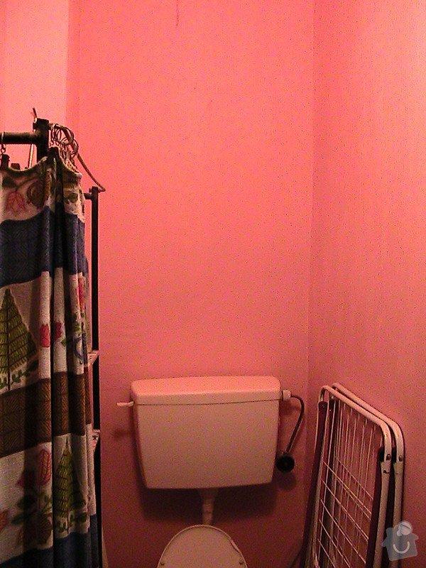 Rekonstrukce malé koupelny a wc v cihlovém domě: IMG_1238