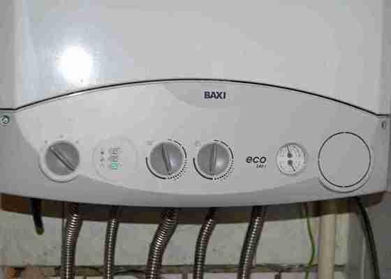 Vyčištění plynového kotle Baxi ECO 240i