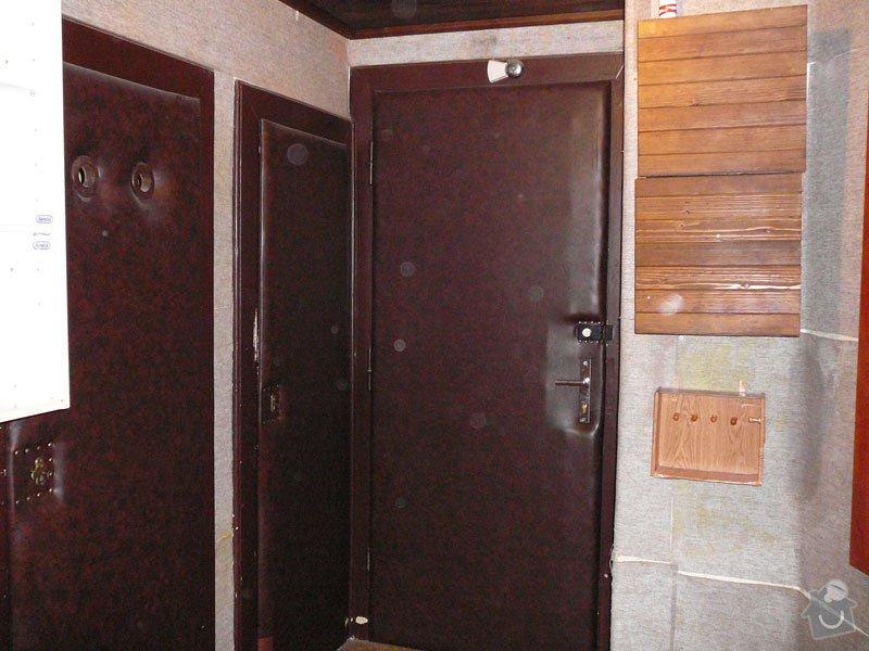 Částečná rekonstrukce bytu: zadveri