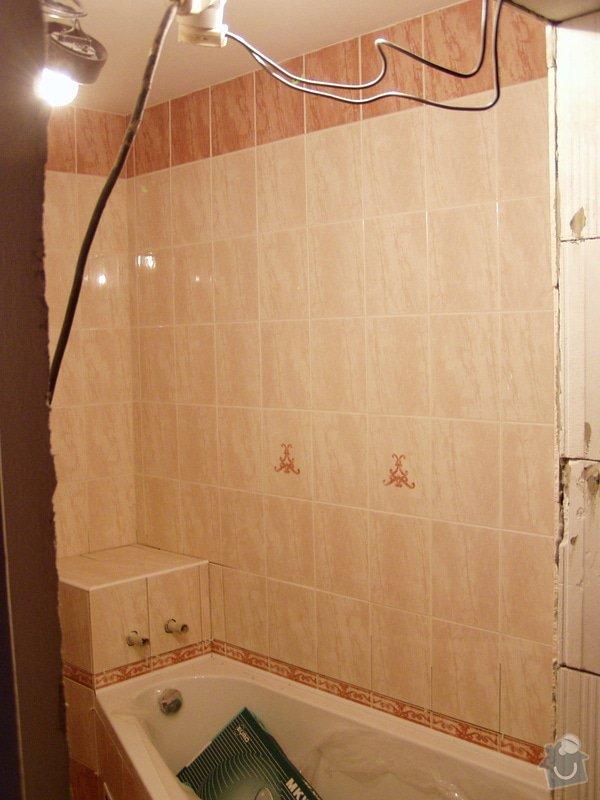Rekonstrukce koupelny,akustické řešení: foto0002