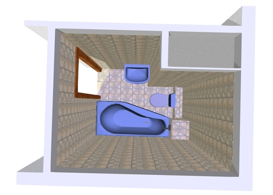 Rekonstrukce koupelny,akustické řešení