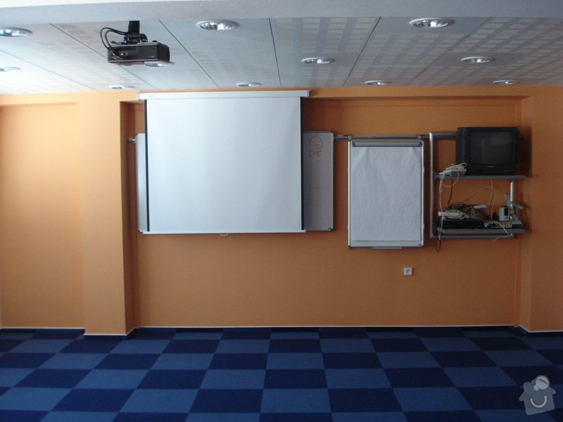Rekonstrukce zasedací místnosti vč.vybavení: DSC02948