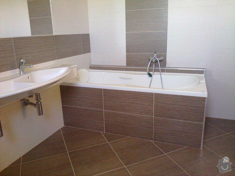 Rekonstrukce koupelny a WC: 17062010791