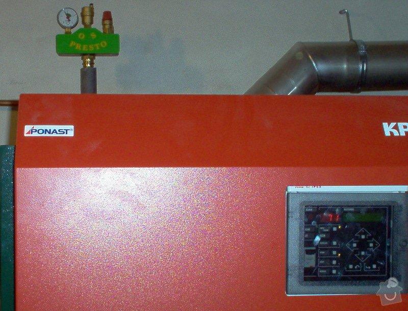 Automatická - peletová kotelna s KP51: PF