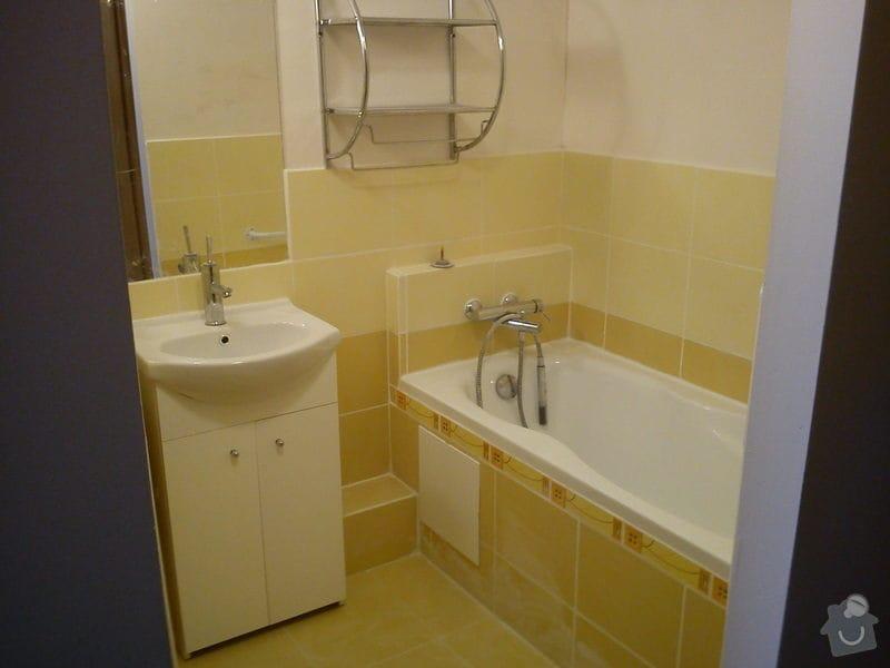 Rekonstrukce koupelny: DSC00284