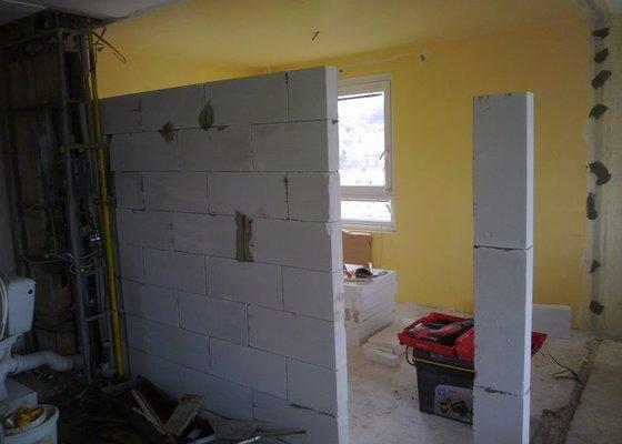 Rekonstrukce celého bytu 3+1
