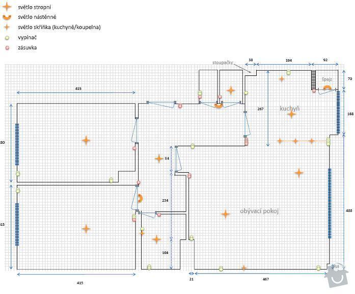 Kompletní předělání elektřiny (byt 3+1): elektrina_zouharovi