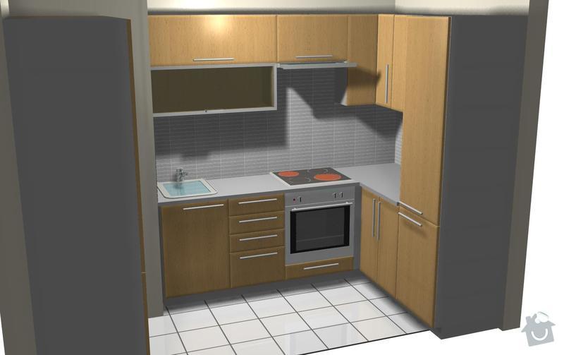 Kuchyňská linka: perspektiva