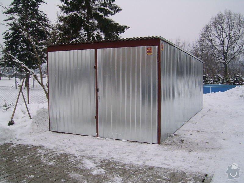 Plechová garáž: SSA42703