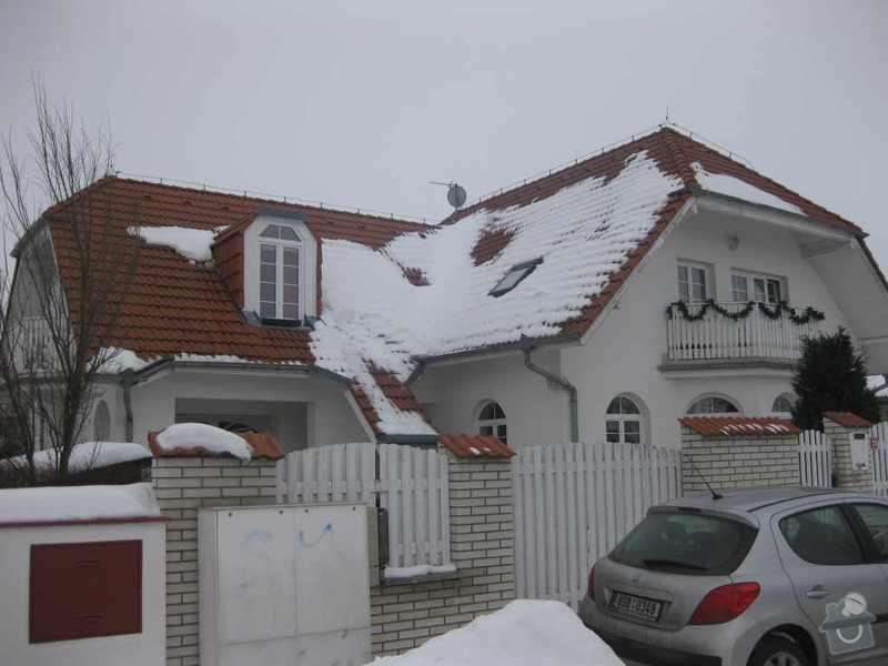 Oprava zateplení střechy RD a nová fasáda: IMG_3586