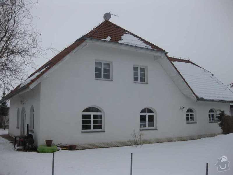 Oprava zateplení střechy RD a nová fasáda: IMG_3590