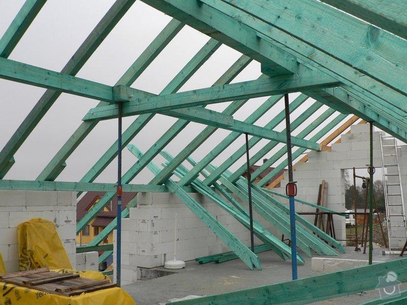 Krov rodinného domu: P1060150