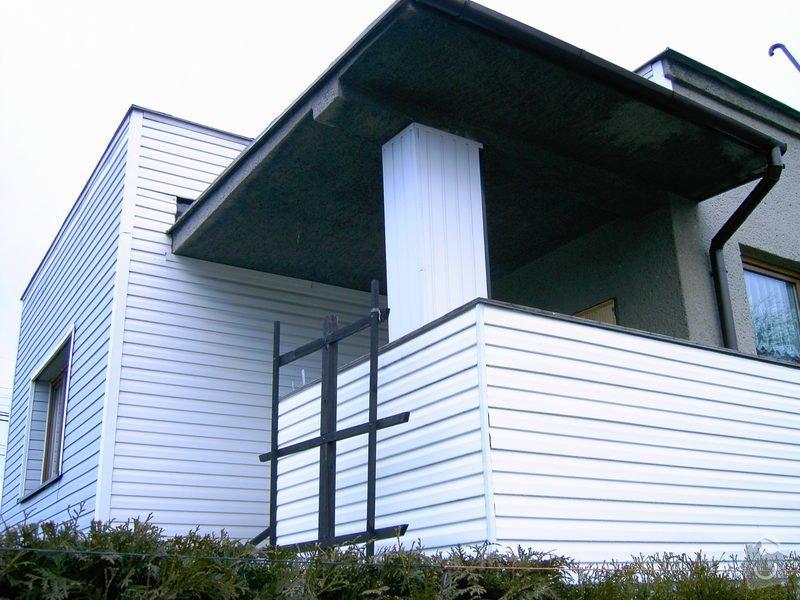 Lodžie - zasklení verandy RD + vstupní dveře: PICT0558