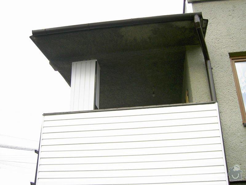 Lodžie - zasklení verandy RD + vstupní dveře: PICT0557