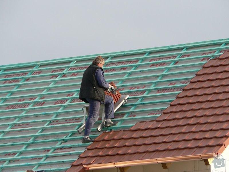 Pokrývačské práce - střecha: P1060270