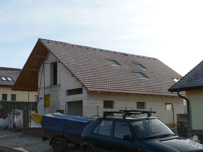 Pokrývačské práce - střecha: P1060277