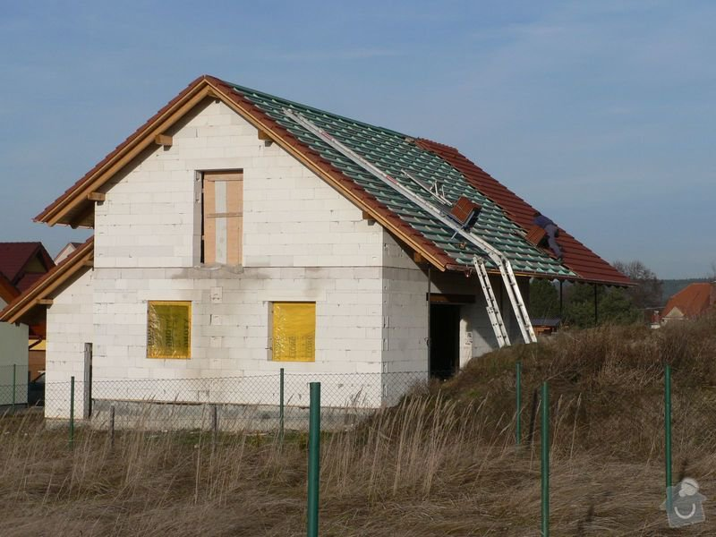 Pokrývačské práce - střecha: P1060285