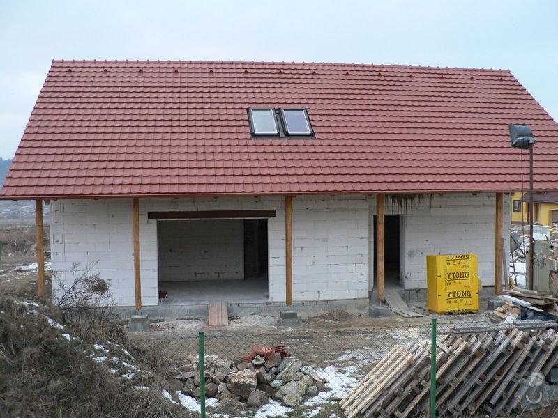 Pokrývačské práce - střecha: P1070065