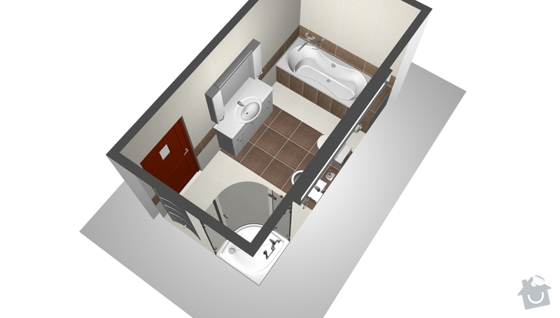 Interiéry na klíč v rodinném domu: perspektiva1