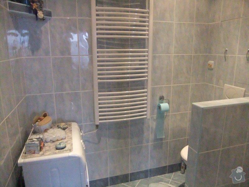 Rekonstrukce koupelny v panelovém domě.: DSCF0254