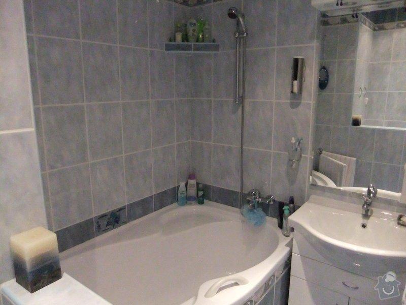 Rekonstrukce koupelny v panelovém domě.: DSCF0255