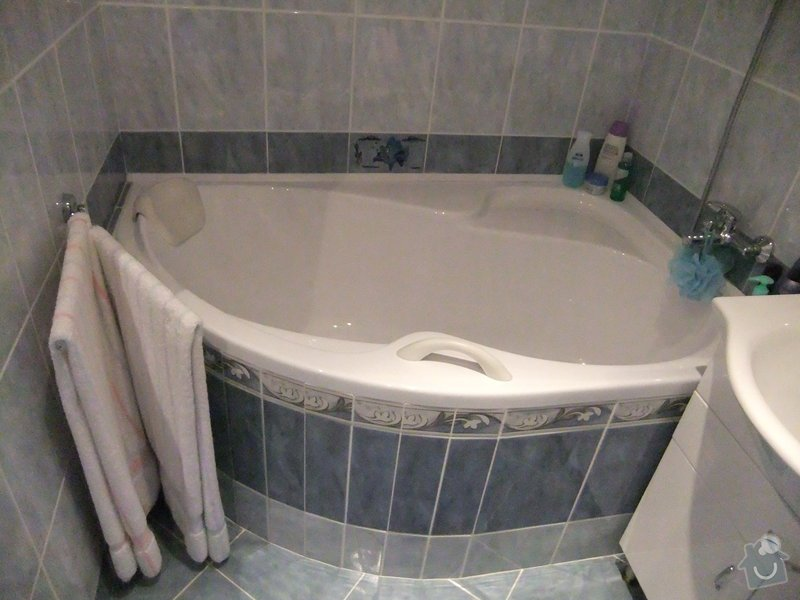 Rekonstrukce koupelny v panelovém domě.: DSCF0256