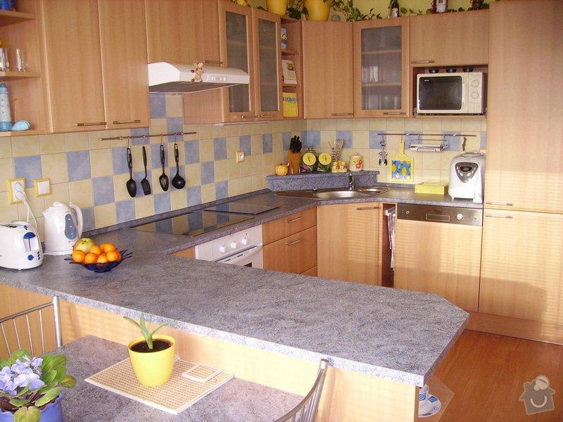 Rekonstrukce kuchyně, výroba kuchyňské linky: PICT1678