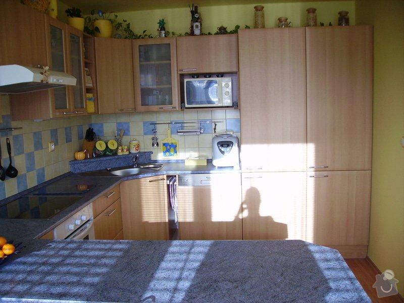 Rekonstrukce kuchyně, výroba kuchyňské linky: PICT1679