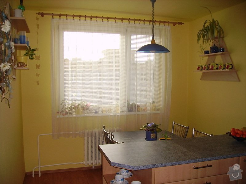 Rekonstrukce kuchyně, výroba kuchyňské linky: PICT1676