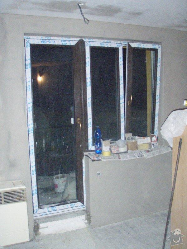 Začištění špalet kolem oken: P1141366