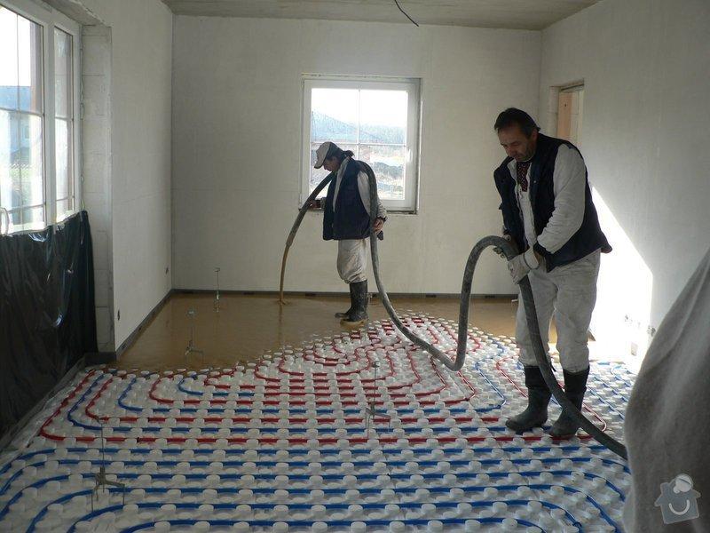 Litá podlaha - anhydrit: P1080502