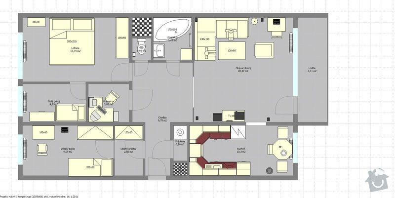 Zhotovení klimatizace v bytě: navrh