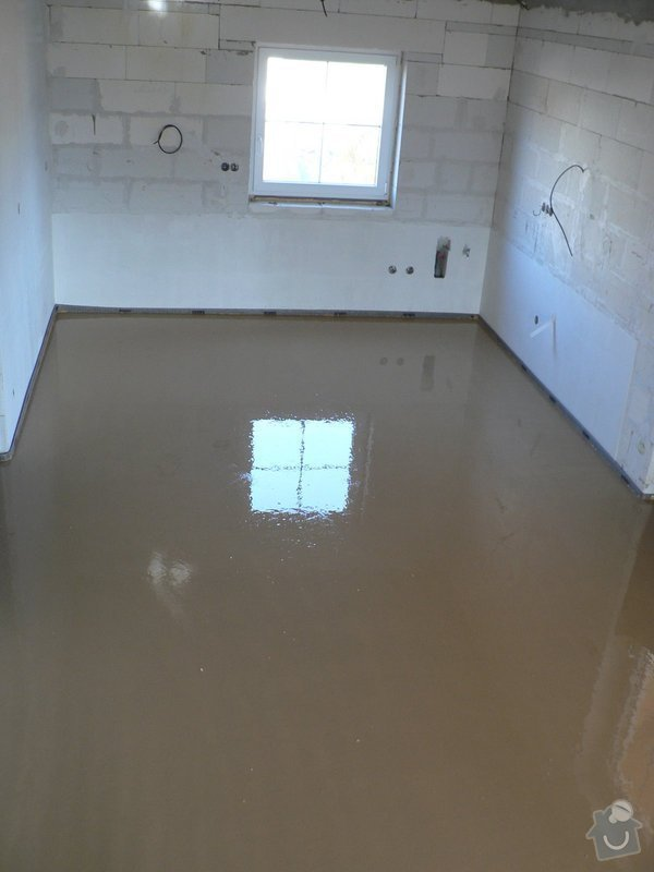 Litá podlaha - anhydrit: P1080546