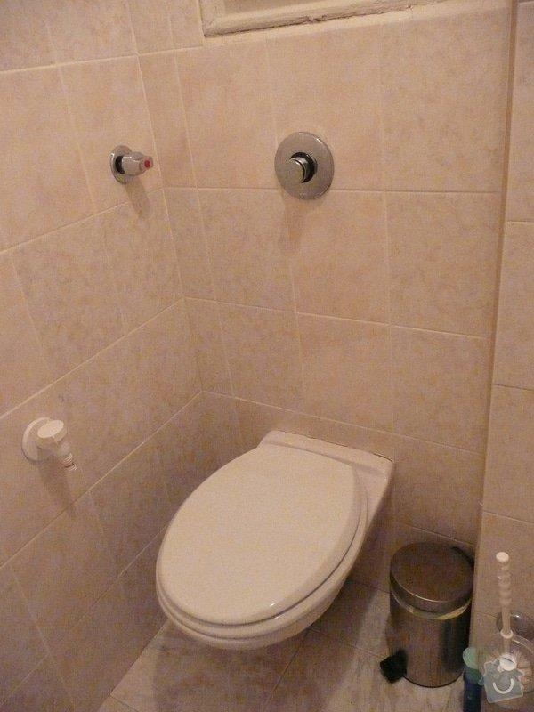 Nestandartní výměna WC: 1
