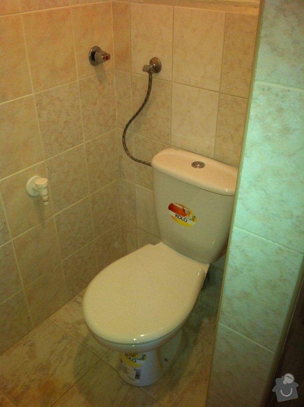 Nestandartní výměna WC: 4